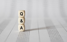 Word Q AND A Made With Wood Bu...
