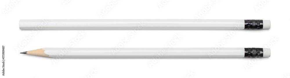 Fototapety, obrazy: White Pencils