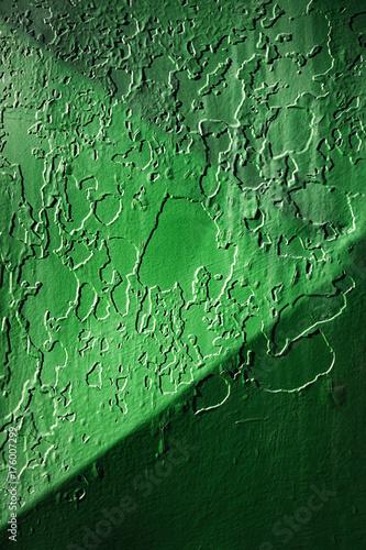 Zdjęcie XXL stara zielona powłoka z blachy