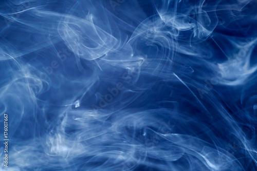 Fototapeta Błękitny dym