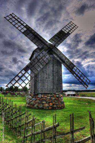 Obraz na płótnie wiatrak