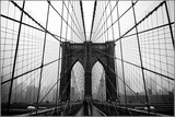 Fototapeta Nowy York - Brooklyn bridge