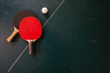 Ping Pong Rackets And Table Tennis Ball