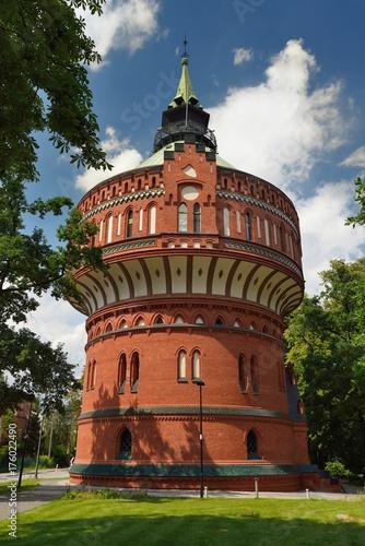 Obraz Wieża ciśnień w Bydgoszczy - fototapety do salonu