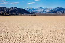 Racetrack In The Desert Of Death Valley California