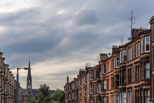 View Of Central Glasgow In Sco...