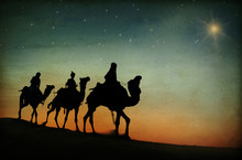 The Three Kings Following The ...