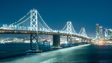 Oakland Bay Bridge And The Cit...
