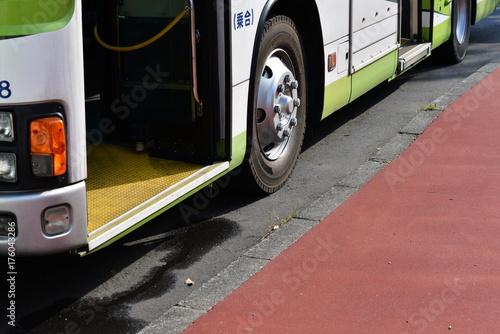 Plakat Trasa autobusu