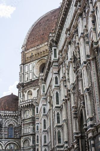 Obraz na dibondzie (fotoboard) FLORENCJA WŁOCHY, LIPIEC, - 25, 2017: katedra Santa Maria Del Fiore, Tuscany -