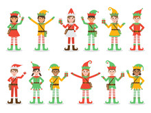 Christmas Kid Elves