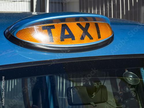 Zdjęcie XXL Londyńska taksówka
