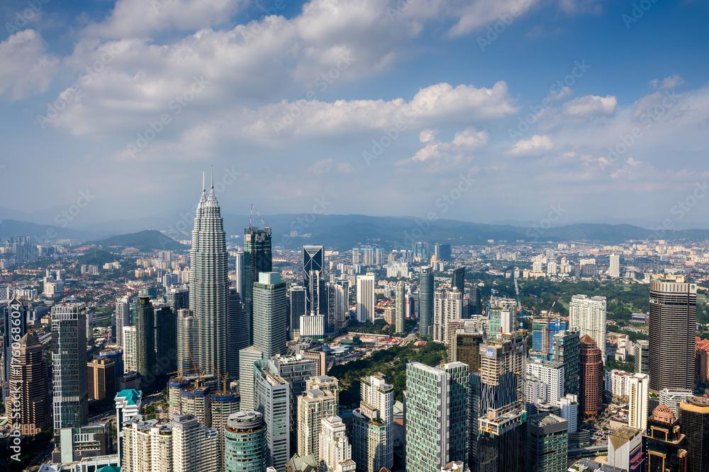 Fotografia, Obraz  Kuala Lumpur cityscape