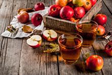 Fresh Organic Farm Apple Juice...