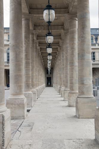 Fotografie, Obraz  Famous palace in Paris, France - Palais Royal