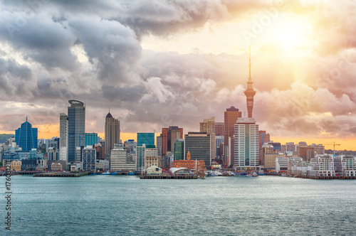 Aluminium Prints New Zealand Auckland skyline