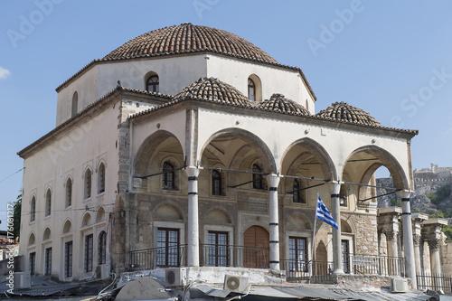 Plakat Meczet Tzistarakis w Plaka, Ateny