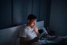 Watching Series At Night