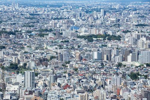 Obraz na dibondzie (fotoboard) Z Tokio, Townscape, Tokyo Metropolitan Office Observation Room