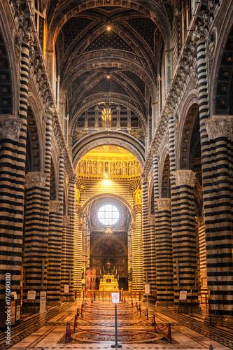 Plakat Katedra w Sienie