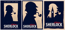 Set Of Sherlock Holmes Posters...