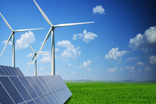 Green Energy Powered By Solar ...