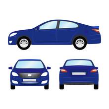 1643406 Car Vector Template On...