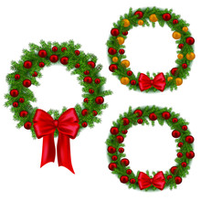Christmas Wreath, Decoration F...