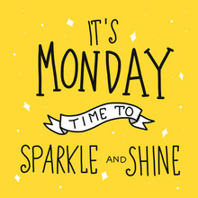 It's Monday Time For Sparkle A...