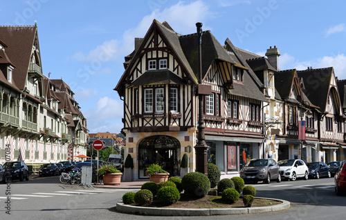 Alte Villen in Deauville