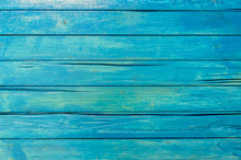 Blue Wood Planks Background Te...