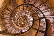 Spiral Stairs Inside Arc De Tr...