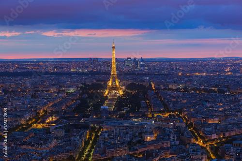 Papiers peints Paris Cityscape of Paris France
