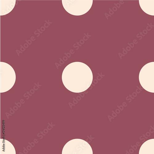 Plakat Wzór polka dot. Kropkowane tło z koła, kropki, rundy