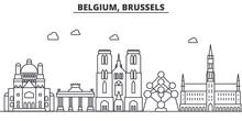 Belgium, Brussels Architecture...