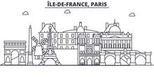 France, Paris Architecture Lin...