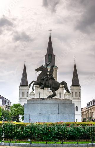 Photo  Jackson Square, New Orleans