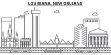 Louisiana, New Orleans Archite...