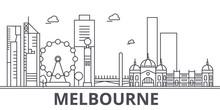 Melbourne Architecture Line Sk...
