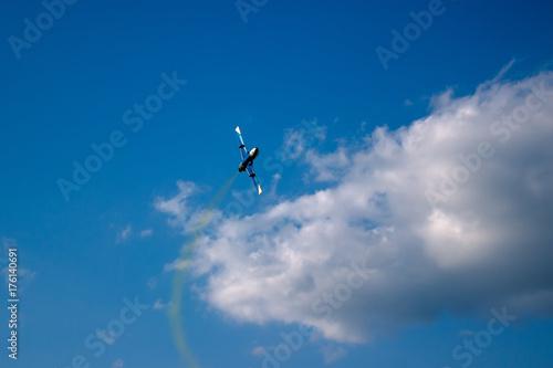Fototapeta samolot podczas lotnictwa