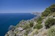 View on Mediterranean Sea in Murcia, Spain