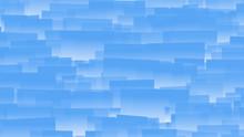Random Stacks Pattern Blue Rectangles Background