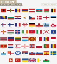 National Flag Of European Coun...