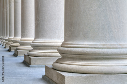 Fotomural  Marble Columns