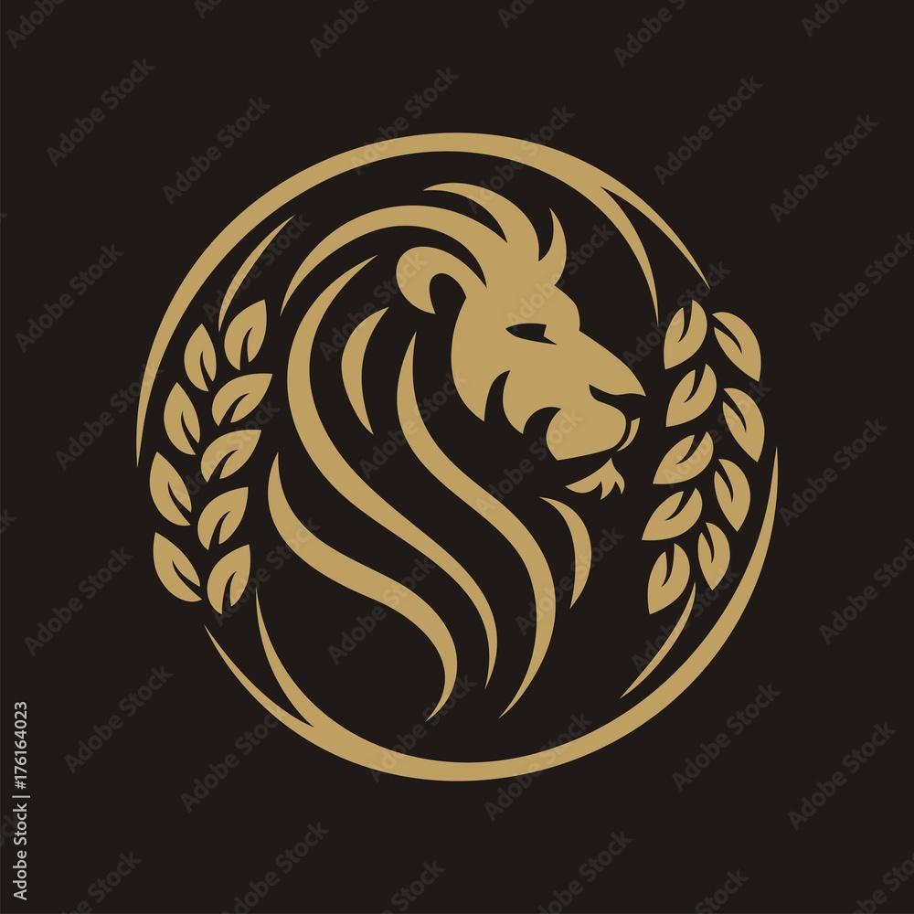 Head Lion Circle Grain