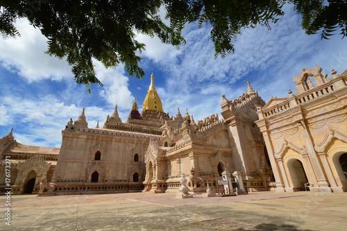 Fototapeta Piękna Ananda świątynia w Bagan, Myanmar