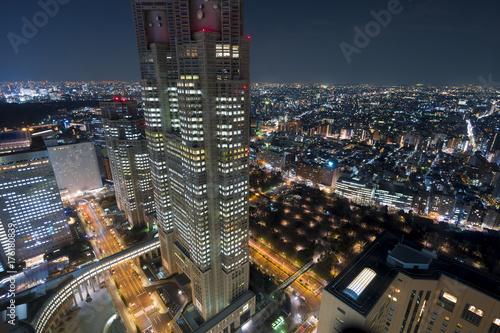 Plakat Krajobraz Tokio