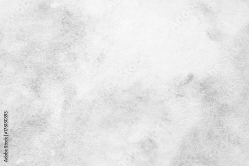 Fotografie, Obraz  Gray abstract watercolor painting textured on white paper background