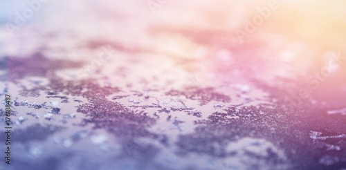 Spoed Foto op Canvas Wit Scenic view of snow covered landscape