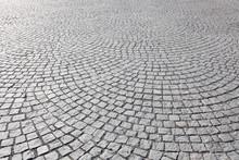 Old Square Cobble Stone Paving...